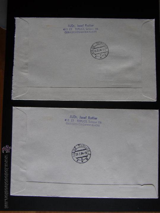 Sellos: Checoslovaquia. Lote de más de 200 sobres primer día, entero postales, tarjetas postales, etc. - Foto 86 - 52953992
