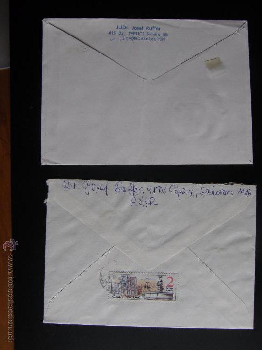 Sellos: Checoslovaquia. Lote de más de 200 sobres primer día, entero postales, tarjetas postales, etc. - Foto 89 - 52953992