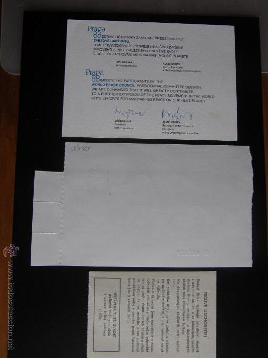 Sellos: Checoslovaquia. Lote de más de 200 sobres primer día, entero postales, tarjetas postales, etc. - Foto 91 - 52953992
