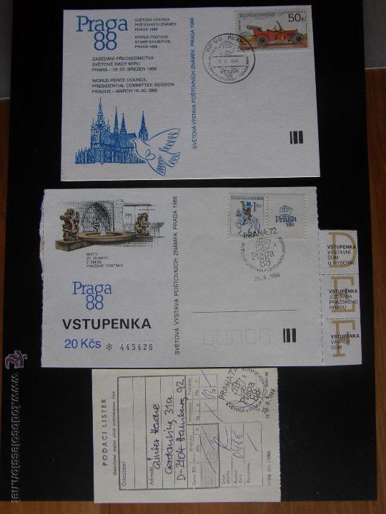 Sellos: Checoslovaquia. Lote de más de 200 sobres primer día, entero postales, tarjetas postales, etc. - Foto 92 - 52953992