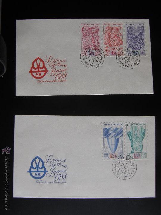 Sellos: Checoslovaquia. Lote de más de 200 sobres primer día, entero postales, tarjetas postales, etc. - Foto 93 - 52953992