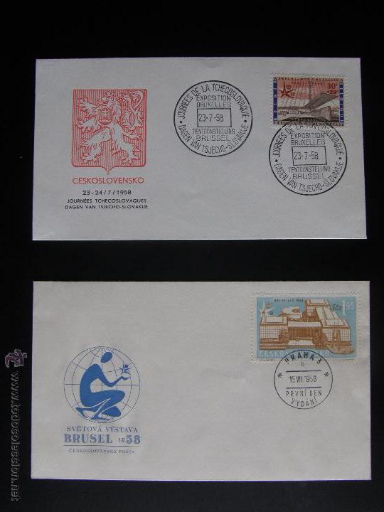 Sellos: Checoslovaquia. Lote de más de 200 sobres primer día, entero postales, tarjetas postales, etc. - Foto 94 - 52953992