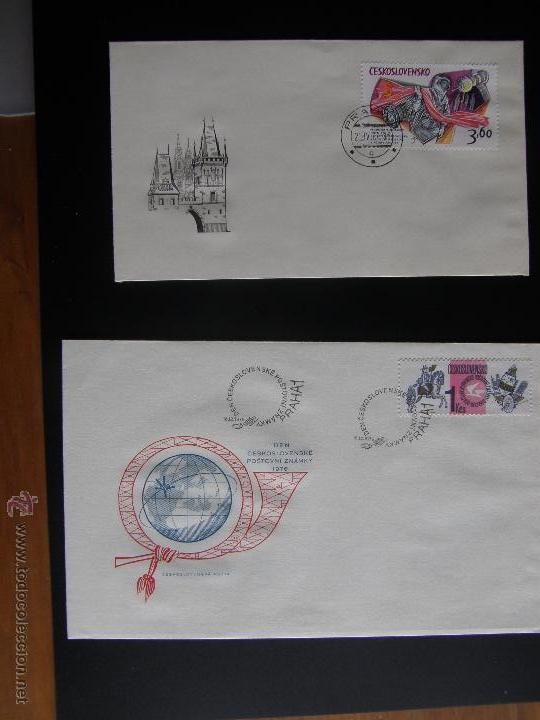 Sellos: Checoslovaquia. Lote de más de 200 sobres primer día, entero postales, tarjetas postales, etc. - Foto 95 - 52953992