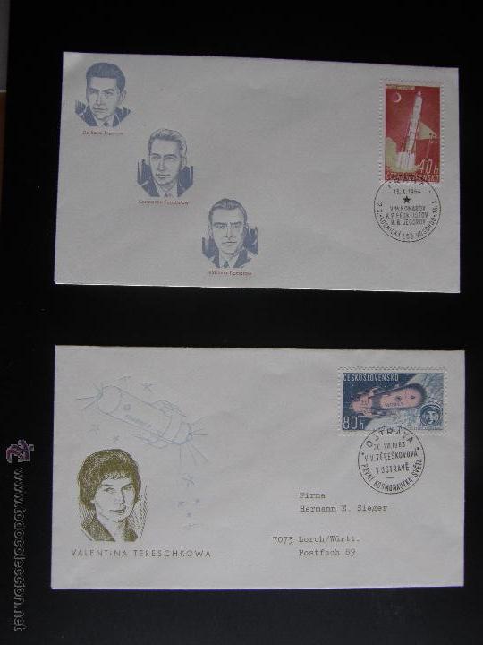 Sellos: Checoslovaquia. Lote de más de 200 sobres primer día, entero postales, tarjetas postales, etc. - Foto 98 - 52953992