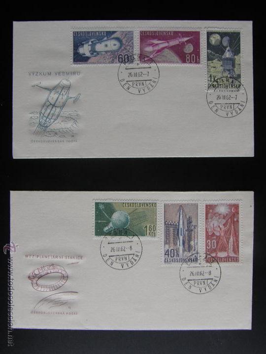 Sellos: Checoslovaquia. Lote de más de 200 sobres primer día, entero postales, tarjetas postales, etc. - Foto 99 - 52953992