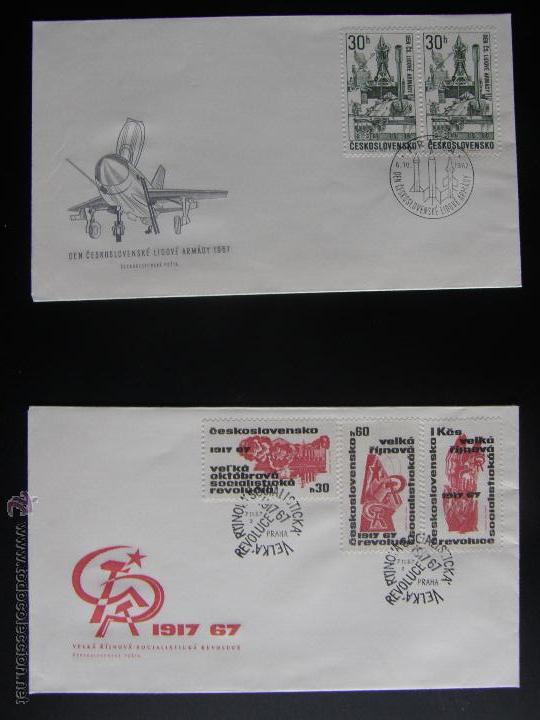 Sellos: Checoslovaquia. Lote de más de 200 sobres primer día, entero postales, tarjetas postales, etc. - Foto 100 - 52953992