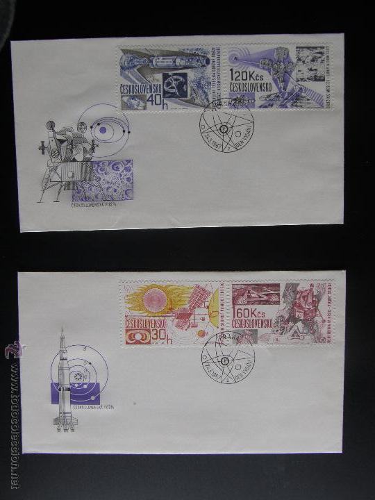 Sellos: Checoslovaquia. Lote de más de 200 sobres primer día, entero postales, tarjetas postales, etc. - Foto 101 - 52953992