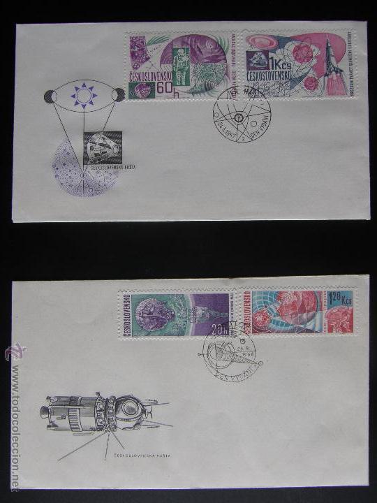 Sellos: Checoslovaquia. Lote de más de 200 sobres primer día, entero postales, tarjetas postales, etc. - Foto 102 - 52953992