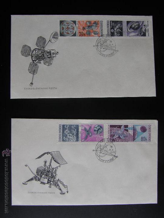 Sellos: Checoslovaquia. Lote de más de 200 sobres primer día, entero postales, tarjetas postales, etc. - Foto 103 - 52953992