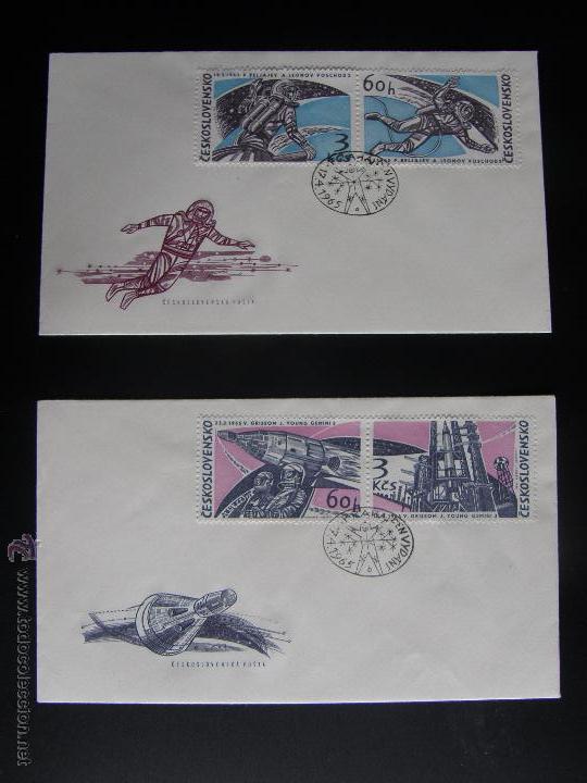 Sellos: Checoslovaquia. Lote de más de 200 sobres primer día, entero postales, tarjetas postales, etc. - Foto 105 - 52953992