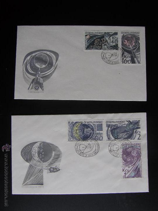 Sellos: Checoslovaquia. Lote de más de 200 sobres primer día, entero postales, tarjetas postales, etc. - Foto 106 - 52953992