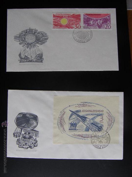 Sellos: Checoslovaquia. Lote de más de 200 sobres primer día, entero postales, tarjetas postales, etc. - Foto 107 - 52953992