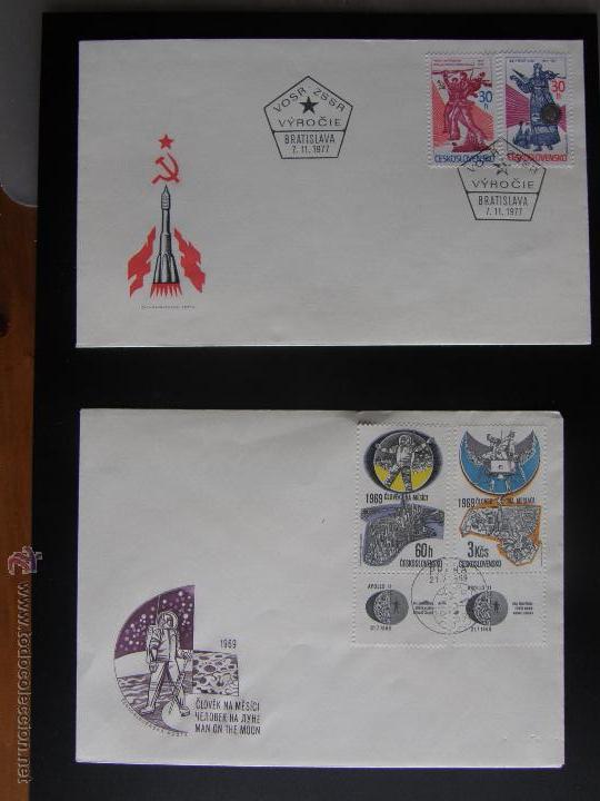 Sellos: Checoslovaquia. Lote de más de 200 sobres primer día, entero postales, tarjetas postales, etc. - Foto 108 - 52953992