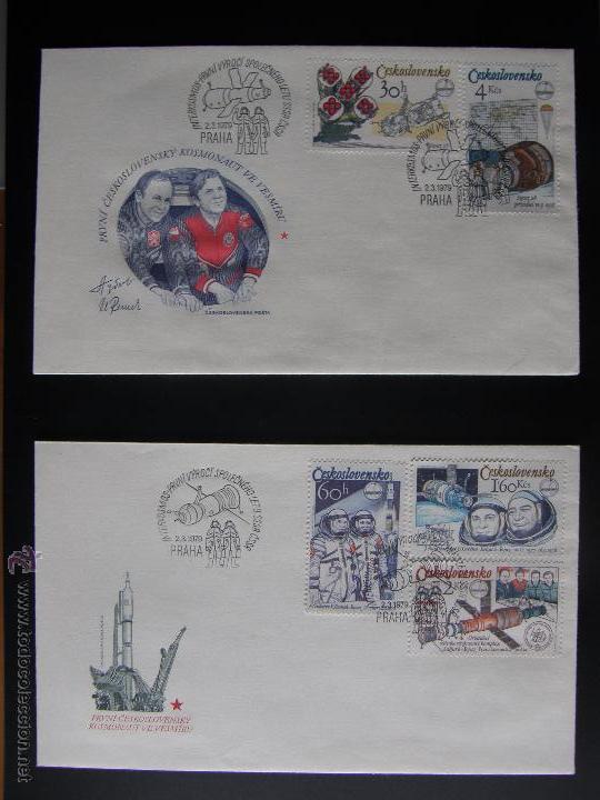 Sellos: Checoslovaquia. Lote de más de 200 sobres primer día, entero postales, tarjetas postales, etc. - Foto 110 - 52953992