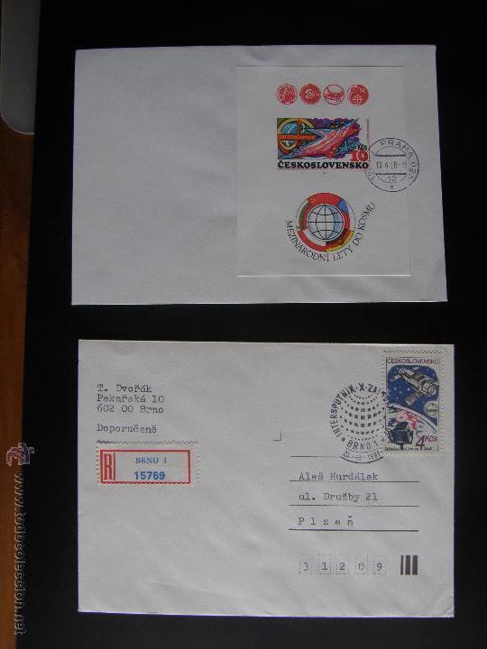 Sellos: Checoslovaquia. Lote de más de 200 sobres primer día, entero postales, tarjetas postales, etc. - Foto 114 - 52953992