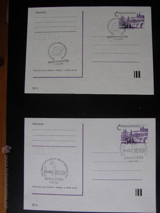 Sellos: Checoslovaquia. Lote de más de 200 sobres primer día, entero postales, tarjetas postales, etc. - Foto 116 - 52953992