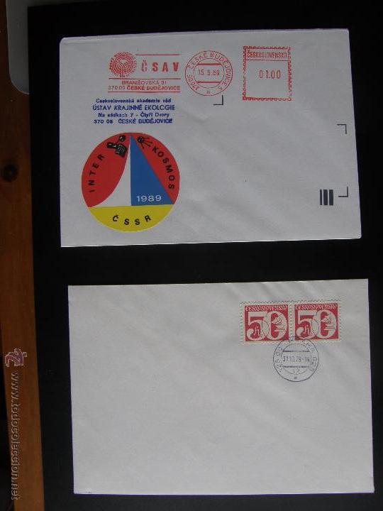 Sellos: Checoslovaquia. Lote de más de 200 sobres primer día, entero postales, tarjetas postales, etc. - Foto 118 - 52953992