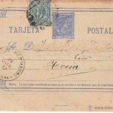 Sellos: ENTERO POSTAL 8FB COMPLEMENTARIO DE IMPUESTO DE GUERRA . Lote 53423331