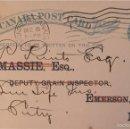 Sellos: ENTERO POSTAL CANADÁ , CIRCULADO 1902 CON SOBREIMPRESIÓN PRIVADA. Lote 56470068