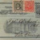 Sellos: ENTERO POSTAL CHILE , CIRCULADO 1917 CON SOBREIMPRESIÓN PRIVADA. Lote 56470075