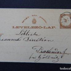 Sellos: LEVELEZÖ-LAP. MAGY. KIR. POSTA - 20. 10. 1875. Lote 79002389