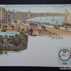 Sellos: ISLA DE MAN 5 MAYO 1994 - DOUGLAS - TO COMMEMORATE THE CENTENARY OF THE PICTURE POSTCARD IN 1994 .... Lote 82621920