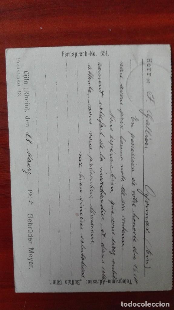 Sellos: Alemania Enteropostal 1905 Coln Rhein - Foto 2 - 89420436