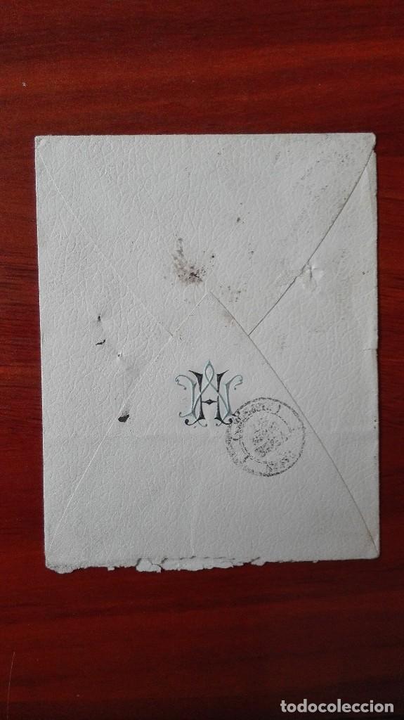 Sellos: Francia carta 1887 París - Foto 2 - 89422296