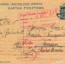 Sellos: POLONIA, ENTERO POSTAL CIRCULADO EL 13-10-1931. Lote 94650251