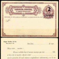 Sellos: COSTA RICA 1911 TEP EDGAR KNÖHR & CO.. Lote 103128099