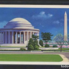 Sellos: *WASHINGTON. MONUMENTS-JEFFERSON MEMORIAL* USPS 1989. FACIAL 0,15 $. NUEVA. Lote 107996915