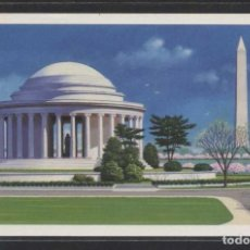 Sellos: *WASHINGTON: MONUMENTS-JEFFERSON MEMORIAL / THE WHITE HOUSE* LOTE 2 DIFERENTES. NUEVAS.. Lote 107997903