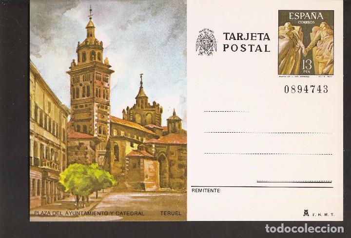 TARJETA POSTAL- TERUEL - LA DE LA FOTO VER TODAS MIS TARJETAS Y POSTALES (Sellos - Extranjero - Entero postales)