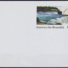 Sellos: USA 1991 ~ AMERICA THE BEAUTIFULL ~ ENTERO POSTAL SIN CIRCULAR. Lote 129424547