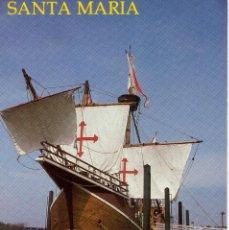Sellos: POSTAL DE ESTADOS UNIDOS, NAO SANTA MARIA. (2 FOTOS) CRISTOBAL COLON.. Lote 133659998