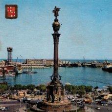 Sellos: POSTAL DE ESPAÑA, BARCELONA CIRCULADA Nº193. (2 FOTOS) CRISTOBAL COLON.. Lote 133663258