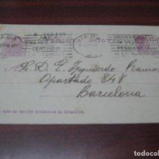 Sellos: EDIFIL 69 DE ENTEROS POSTALES. MATASELLO DE JACA, HUESCA.. Lote 137845757
