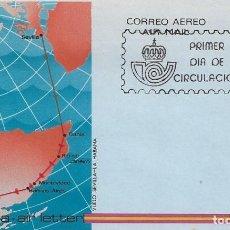 Sellos: AEROGRAMA EDIFIL 1982 CON MATASELLO PRIMER DIA 29.06.1982. Lote 146289866