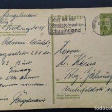 Selos: ENTERO POSTAL ALEMANIA IMPERIO 1932. Lote 147296590