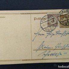 Selos: ENTERO POSTAL ALEMANIA IMPERIO 1924. Lote 147296842