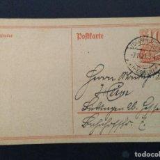 Sellos: ENTERO POSTAL ALEMANIA IMPERIO 1921. Lote 147297246