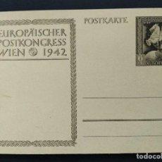Sellos: ENTERO POSTAL ALEMANIA TERCER REICH 1942 CABALLOS. Lote 147300598