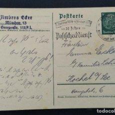 Sellos: ENTERO POSTAL ALEMANIA TERCER REICH 1939. Lote 147302614