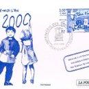 Sellos: FRANCIA, VIVA EL AÑO 2000, IMPRENTA DE LOS SELLOS DE CORREOS, MATASELLO DE 3-12-1999 EN ENTERO. Lote 149374210