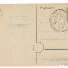 Sellos: LEIPZIG, 1947: 450 ANIVERSARIO DE PRIVILEGIO PARA LEIPZIG - 450 JAHRE MESSE-PRIVILEG FÜR LEIPZIG. Lote 149488562