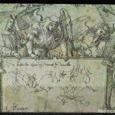Sellos: ALEMANIA. ENTEROPOSTAL 1971 PINTURA. DURERO. MUSEO DE RENNES. Lote 155462262