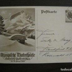 Sellos: ALEMANIA-GARMISCH PARTENKIRCHEN-ENTERO POSTAL AÑO 1936-VER FOTOS-(58.434). Lote 159130278