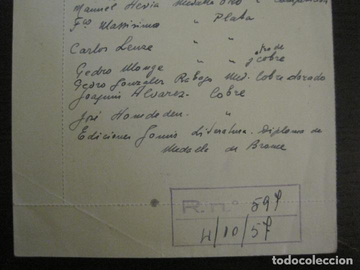Sellos: TEL AVIV-EXPOSICION INTERNACIONAL DE SELLOS-AÑO 1957-VER FOTOS-(V-16.395) - Foto 6 - 160291834