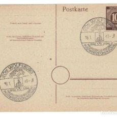 Sellos: ALEMANIA 1948 / WOLFSBURG PHILATELISTEN CLUB WOLFSBURG E.V. POSTWERTZEICHENSCHAU. Lote 164219362