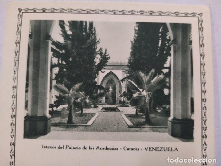 Sellos: VENEZUELA-PALACIO DE LAS ACADEMIAS-ENTERO POSTAL-VER REVERSO-(61.510) - Foto 2 - 174101740